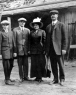 James Harvey Irvine, Sr. (1867-1947) and his children. Myford, James, and Kathryn.